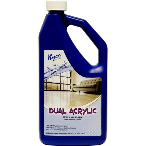 Nyco Products Nl90433 Dual Acrylic Seal And Finish, Acrylic Scent, 8.0 - 8.8 Ph, 1 Qt Bottle (Case Of 6) front-386489