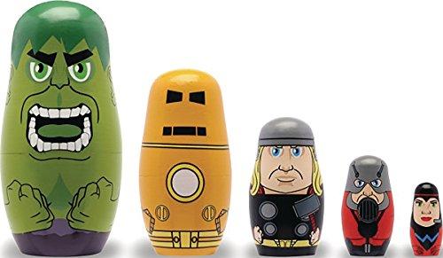 Avengers Founding Avengers Nesting Doll Set (Avengers Marvel Nesting Dolls compare prices)