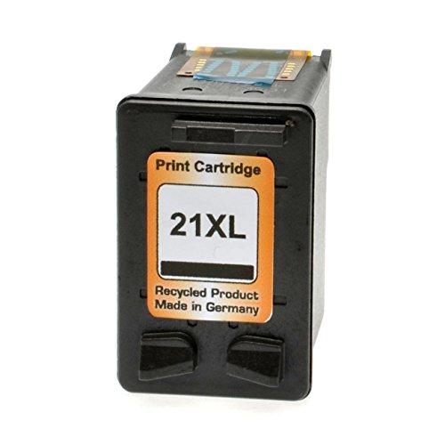 Tintenpatrone für HP Nr.21 kompatibel zu c9351a - Schwarz 20ml (300 % mehr Inhalt)