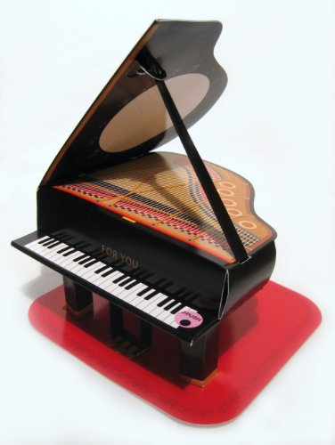 Baby Grand Piano Pop Up Melody Greeting Card