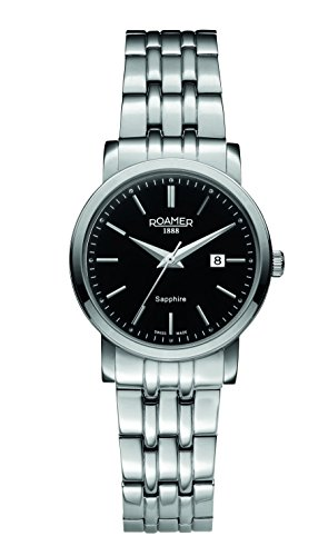 Roamer of Switzerland - 709844 41 55 70 - Montre Femme - Quartz - Analogique - Bracelet Acier Inoxydable Argent