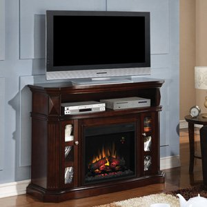 ClassicFlame Bellemeade Electric Fireplace Media Console in Espresso -23MM774-E451 photo B00EVTKCZ4.jpg