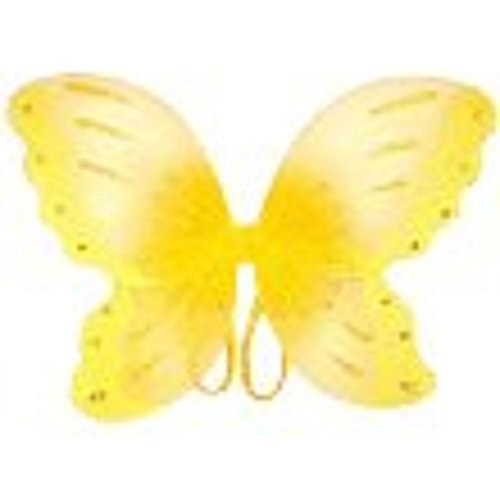 "Yellow Jewel Butterfly Fairy Wings (21"")"
