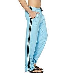 Clifton Mens Coloured Track Pants - Light Blue - Medium