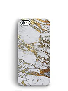 Cover Affair Marble Printed Back Cover Case for Apple iPhone 5