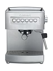 Cuisinart EM-200 Programmable 15-Bar Espresso Maker, Stainless Steel made by Cuisinart