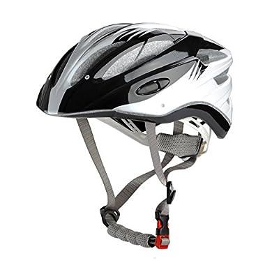 Sports Universal Bicycle Bike Cycling Helmet for Boys/girls/men/women in black Size 52-59cm from Guanshi