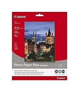 Canon SG201 Semi Gloss Photo Paper (20 Sheets)