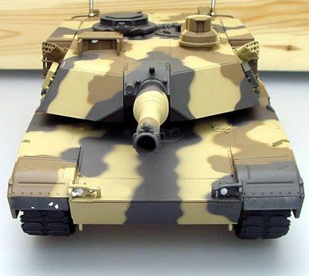 1/24 M1A2 ABRAMS Iraq War US Main Battle RC Tank