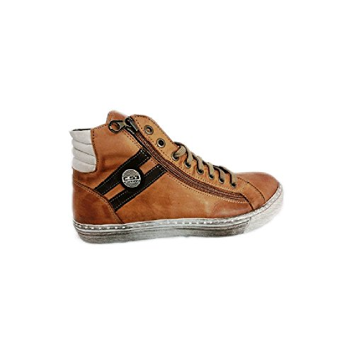 Scarpe sneaker uomo Exton made in italy an68 Taupe (42)