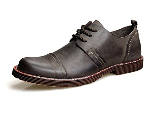 Frommk sandals Men's Cap-toe Leather Business Dress Oxford Shoes Coffee10.5 D(M) US (Mr Coffee 1000 compare prices)
