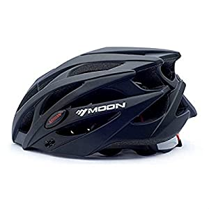 Ali Huang(TM) Bicycle Helmet Cycling Integrated Casing Ultralight Road Bike MTB with a gift (Black01, M)