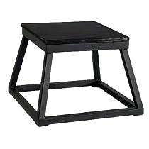 "Black Plyometric Platform Box (12"" Black)"