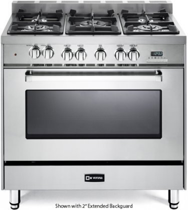 Verona-VEFSGE365NSS-36-Freestanding-Dual-Fuel-Range-with-5-Sealed-Burners-in-Stainless-Steel