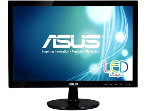 Asus Vs197T-P 19-Inch Screen Led-Lit Monitor front-1063815