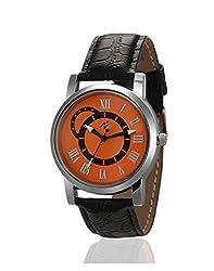 Yepme Liozec Mens Watch - Orange/Black -- YPMWATCH2143