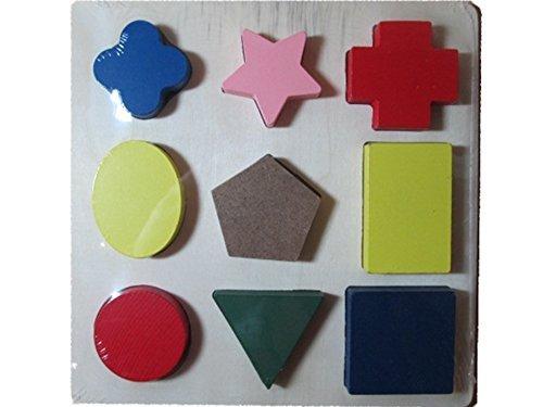 All Wood Shape Sorter Board - 1