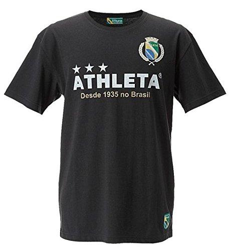 フットサル ウェア ATHLETA アスレタ ブラジルエンブレムTシャツ イエロー 03256 YEL