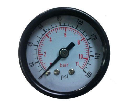 PneumaticPlus Air Pressure Gauge for Air Compressor