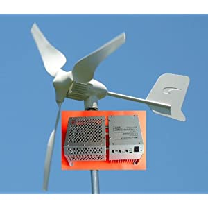 Gudcraft Wg400 400 Watt 12 Volt 6 Blade Wind Generator With Charge ...