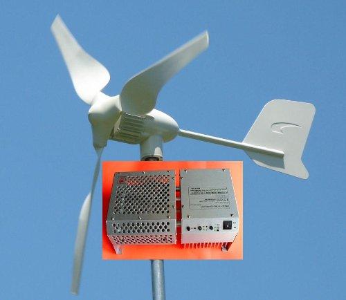 Windmax HY600-3 750 Watt Max 24-Volt 3-Blade Residential Wind Generator Kit
