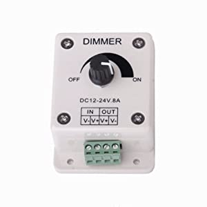 dc 12v 14v 8a led bulb dimmer switch brightness controller wall dimmer switches. Black Bedroom Furniture Sets. Home Design Ideas