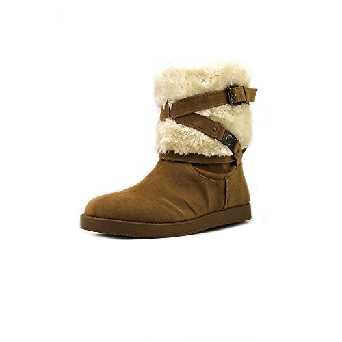 G by Guess Alta Women's Shearling Winter Boots, Medium Brown