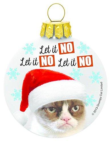 Grumpy Cat Ornament – Let It No, Let It No, Let It No