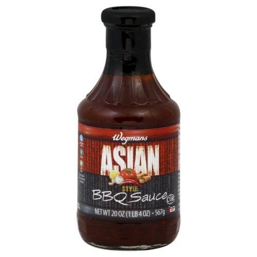 Wgmns BBQ Sauce, Asian Style, Hot ,20 Oz ( Pak Of 6 )