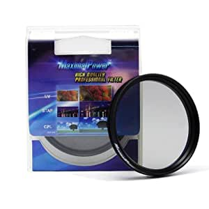 MaximalPower Filtre polarisant circulaire 58mm