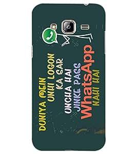 Axes Premium Designer Back Cover forSamsung Galaxy J3 Pro (-d895