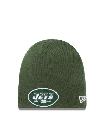NFL New York Jets Team Logo Basic Knit Cap at Amazon.com