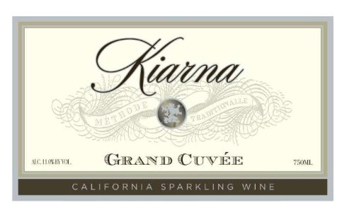 Nv Kiarna Grand Cuvee Sparkling Wine, California 750 Ml