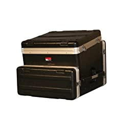 Gator 10U Top, 4U Side Console Audio Rack (GRC-10X4)