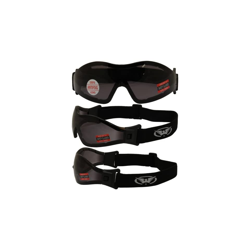 104b09133fd Global Vision Z33 Riding Goggles(Black Frame Smoke Lens) on PopScreen