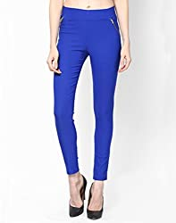ELLIS Cotton Lycra BLUE Jeggings Form Women