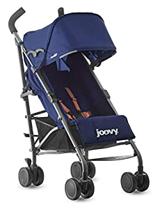Joovy Groove Ultralight Lightweight Travel Umbrella Stroller, Blueberry