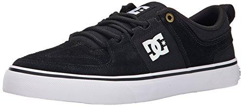 DC Lynx Vulc TX Skate Shoe, Black 2, 9 M US