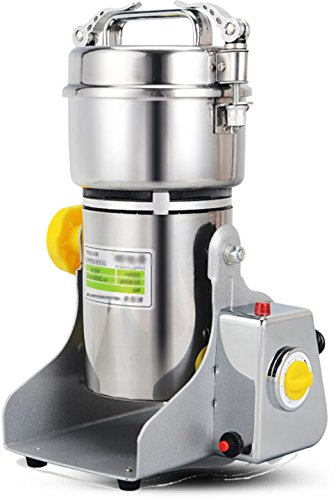 Chinese Medicine Grinder Food Mill   Large Scale 250g S1 Stainless Steel Electric Grinding Food Machine   110V USA /220V   Grain Pulverizer   CE Certification   Major Grinding Herb & Spice Mill (Chinese Medicine Grinder compare prices)