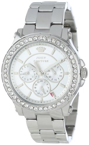 Juicy Couture Women's 1901048 Pedigree Stainless Steel Bracelet Watch