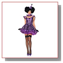 Halloween Costumes - Effie Parisian Clown MD-LG - womens Adult Costume