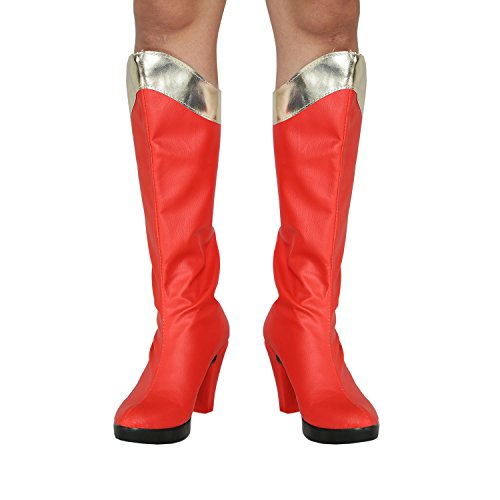 Hot Movie Cosplay Woman Cosplay Shoes Red Sexy Shoes for Sale C (Hot Cosplay Women)