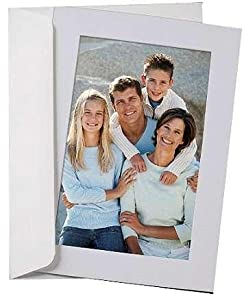 SIMPLICITY Light Blue Photo Insert Card envelope sold in 10s - 4x6