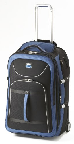 Travelpro Luggage T-Pro Bold 28 Inch Expandable Rollaboard Bag, Black/Blue, One Size special discount