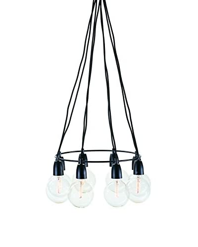 Nuevo Living Tess 8-Light Pendant Lamp, Black
