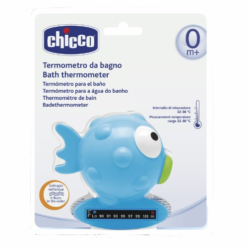Imagen principal de Chicco 74525000000 - Termómetro de baño de plástico (edad: de 0 a 36 meses, 20.5x17x8 cm)