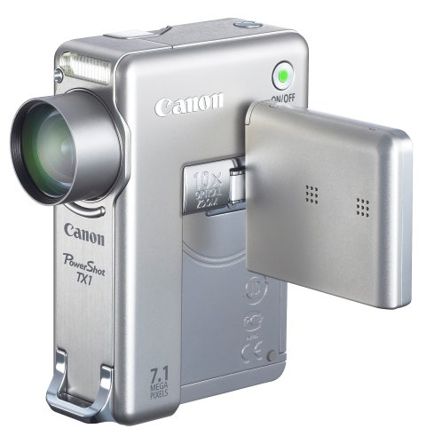 Canon PowerShot TX1 is one of the Best Point and Shoot Digital Cameras for Travel and Child Photos Under $400