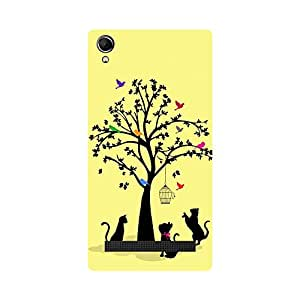 Phone Candy Designer Back Cover with direct 3D sublimation printing for Intex Aqua Power Plus