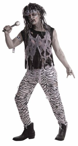 Forum Men's Zombie Rockstar Costume