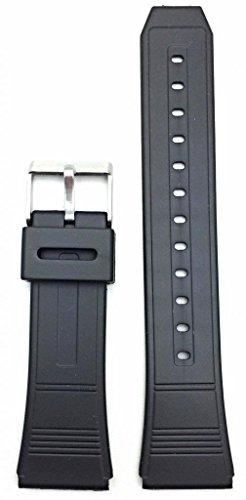 22Mm Black Watch Band